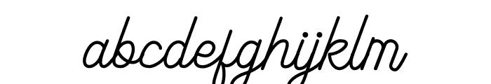 Majorette Font LOWERCASE