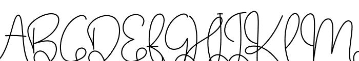 Makagifa Font UPPERCASE