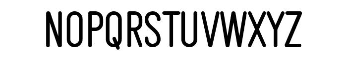 Makesta Rounded Font UPPERCASE