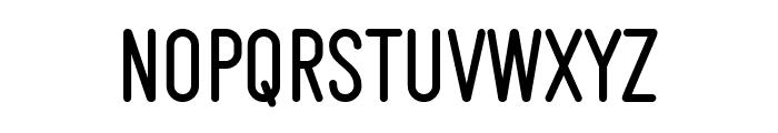 Makesta Rounded Font LOWERCASE
