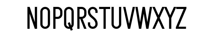Makesta Font UPPERCASE