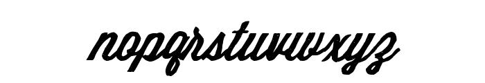 Making Mountains Font LOWERCASE