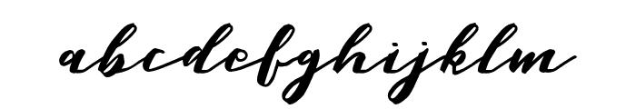 MalagaDiary Font LOWERCASE