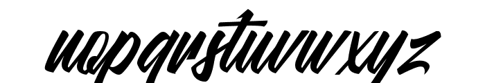Malanaya Script Font LOWERCASE