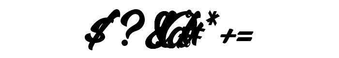 MalanayaScript Font OTHER CHARS