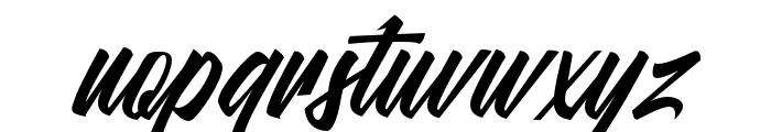 MalanayaScript Font LOWERCASE