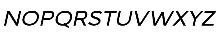 Malibu Sunset Sans Italic Font LOWERCASE