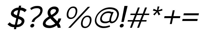 MalibuSunset-SansItalic Font OTHER CHARS