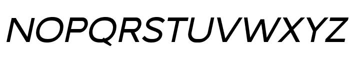 MalibuSunset-SansItalic Font UPPERCASE