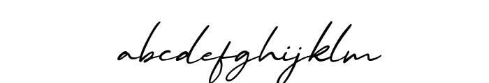 MalibuSunset-ScriptItalic Font LOWERCASE