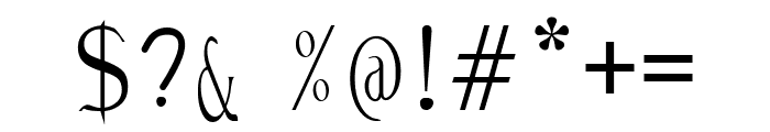 Malica Zen Font OTHER CHARS