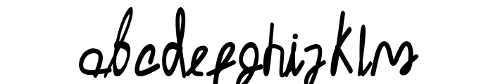 Malica Zen Font LOWERCASE