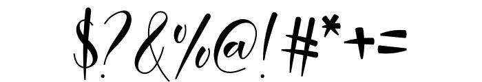 Malinda Font OTHER CHARS