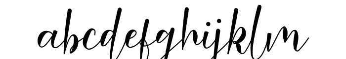Malinda Font LOWERCASE
