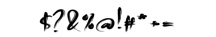 Malinga Font OTHER CHARS