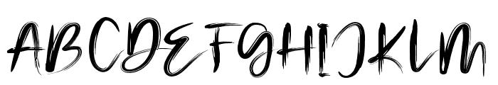 Malinga Font UPPERCASE