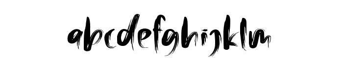 Malinga Font LOWERCASE