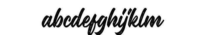 Malinsha Distressed-Regular Font LOWERCASE