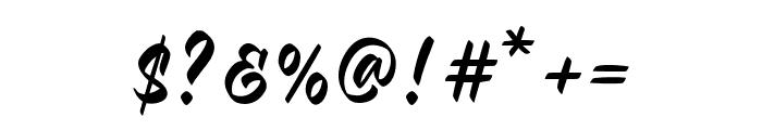 Malinsha Font OTHER CHARS