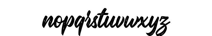 MalinshaDistressed-Regular Font LOWERCASE