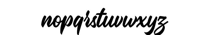 Malinsha Font LOWERCASE