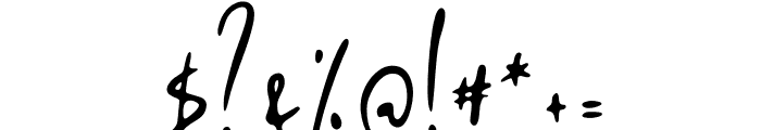 Malithel Font OTHER CHARS