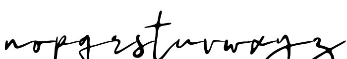 Malithel Font LOWERCASE
