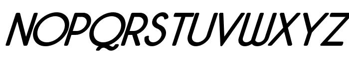 Malynda-Italic Font UPPERCASE