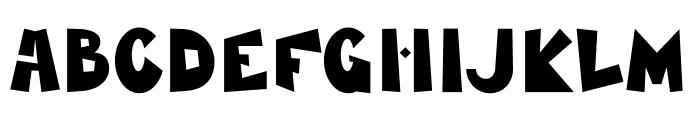 MamaKilo Black Font UPPERCASE