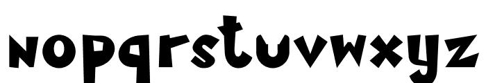 MamaKilo Black Font LOWERCASE