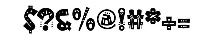 MamaKilo Decorative Font OTHER CHARS