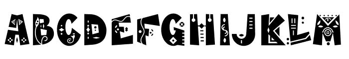 MamaKilo Decorative Font UPPERCASE