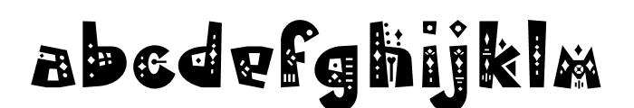 MamaKilo Decorative Font LOWERCASE