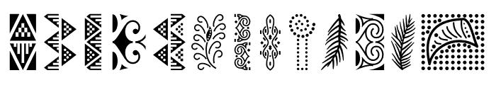 MamaKilo Simbols Font UPPERCASE