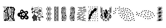 MamaKilo Simbols Font LOWERCASE