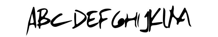 Mamake Font LOWERCASE