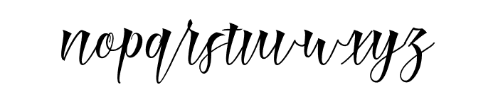 Mamthe Font LOWERCASE