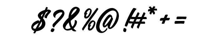 ManchesterScript Font OTHER CHARS