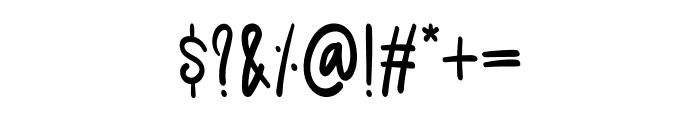 Mandarin Font OTHER CHARS