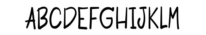 Mandarin Font UPPERCASE