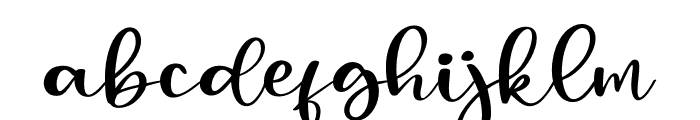 Mangosteen Font LOWERCASE