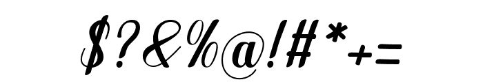 Manhattan-bbakey Font OTHER CHARS