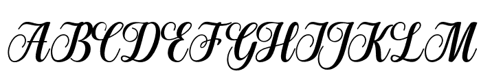 Manhattan-bbakey Font UPPERCASE