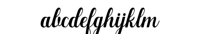 Manhattan-bbakey Font LOWERCASE