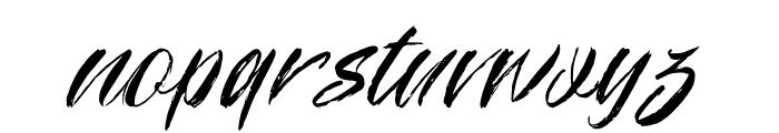 Manhattan Font LOWERCASE