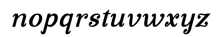 Manohara Bold Italic Pro Font LOWERCASE