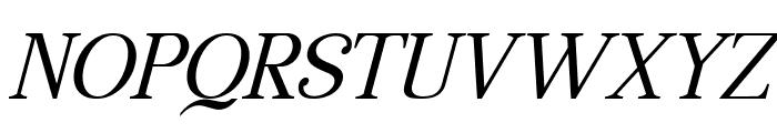 Manohara Italic Pro Font UPPERCASE