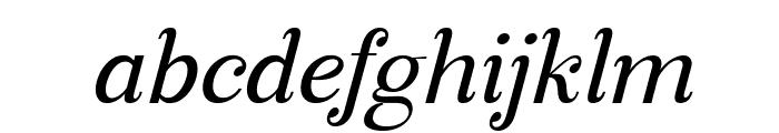 Manohara Italic Pro Font LOWERCASE