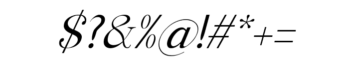 Manohara Light Italic Pro Font OTHER CHARS