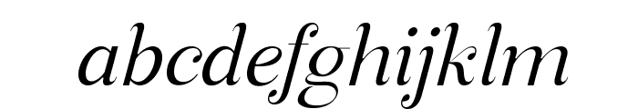 Manohara Light Italic Pro Font LOWERCASE